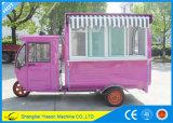 Chariot de hot-dog de chariot de nourriture de vélo de Ys-Et175D