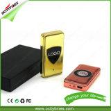 Accenditore piano di Ocitytimes nuovo e largo quadrato lungo ricaricabile Premium del USB della trasparenza della bobina