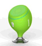 Drahtloser mini beweglicher wasserdichter Bluetooth Lautsprecher mit Saugventil für Badezimmer