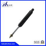 Mini Steel Black Lockable verrouillage de gaz à ressort à ressort pour conditionnement d'air avec connecteur en forme de U pour répondre à la norme SGS