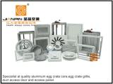 Difusor de alumínio quadrado do ar de Retuen da grade de ar do núcleo de Eggcrate