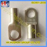 Terminal frio da imprensa do anel da fonte, nariz do fio, cabeça desencapada (HS-OT-0018)