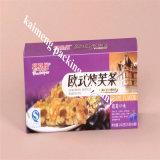 2017 de la categoría alimenticia de plástico transparente para mascotas paquete de la caja de alimentos para 1 kg fideos / pasta (caja de comida)