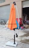 La publicidad al aire libre modificada para requisitos particulares surge el parasol de playa portable de Sun