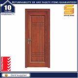 Porta de madeira interior do MDF da madeira composta do folheado da madeira contínua
