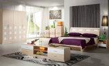 Комфорта комнаты конструкции 2016 способов кровать нового живущий твердая (UL-LF005)