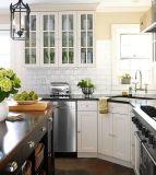 Самомоднейшая роскошная конструкция кухни твердой древесины
