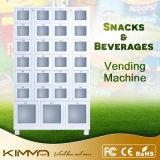 Matérias têxteis embaladas e máquina de Vending combinado do deslizador com 27 pilhas