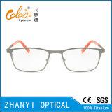 Spätester Entwurf Voll-Rahmen Titanbrille Eyewear optische Glas-Rahmen (9316)