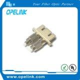Manutenção programada simples do adaptador da fibra óptica para o cabo da fibra de Optial
