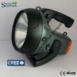 新しい5W LEDは9時間目の懐中電燈5500mAh電池の最後を夜検索する