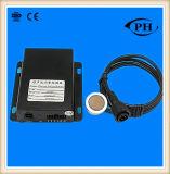 Non contatto e tipo aderente esterno sensore livellato ultrasonico 1-5V, 4-20mA, RS232, RS485 del combustibile facoltativo