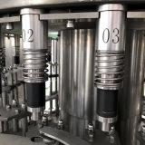 Planta de engarrafamento da maquinaria de enchimento da Semi-Auto água para a fábrica pequena