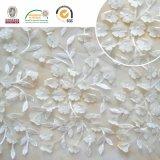 bordado delicado, o melhor vestuário da tela do laço 3D das mulheres do Sell bom para o casamento C10026