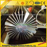 Dissipatore di calore di alluminio su ordinazione dell'alluminio di profilo dell'espulsione del dissipatore di calore 6063 T5