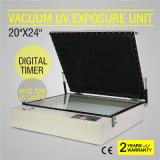 Impresión ULTRAVIOLETA de la pantalla de la unidad de la exposición del vacío con la bomba de vacío