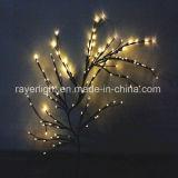 Décorations artificielles de lumière d'arbre d'éclairage de la fleur de cerise DEL