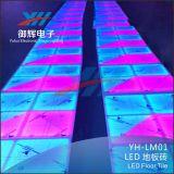 Le mariage DJ présentent économie de pouvoir de tuiles de couleur de l'éclairage DEL RVB de station des amuseurs T d'usager de barre la petites et sûreté IP68 imperméable à l'eau