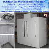 Напольный замораживатель DC-1000 Merchandiser льда для хранения льда
