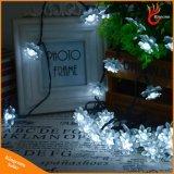 van het LEIDENE van de Bloem van Lotus van de Fee 30LEDs van 6m Lichten de ZonneKoord van Kerstmis