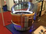 Étalage de crême glacée de Fhc Changhaï/cas d'exposition justes de congélateur crême glacée