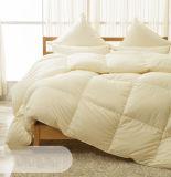 絹カバー100%白のガチョウの慰める人