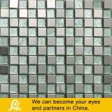 Papel de empapelar en el mosaico de cristal del color del metal con el tratamiento del espejo