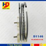 D1146 De08 Motor-Typ Kolbenring für Exkavator-Installationssatz Daewoo-Doosan (65.02503-8146)