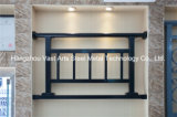 Barandilla de acero galvanizada decorativa de alta calidad 32 del balcón de la aleación de Haohan Alluminum