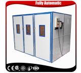 Machine complètement automatique d'incubateur d'oeuf 10000 de capacité de caille de poulet