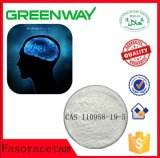 Suplemento químico farmacéutico Noopept Fasoracetam de Nootropics para el cerebro