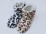2017 ботинок снежка печати леопарда зимы крытых домашних