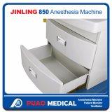 換気装置(JINLING-850)を搭載する麻酔機械