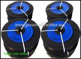 Gw1007 Schlagbiegefestigkeit-Abnutzungs-Widerstand-Schwarz-Gummistreifen