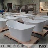 Vasche da bagno di pietra artificiali acriliche indipendenti della vasca di bagno della stanza da bagno