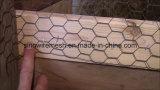 Treillis métallique/compensation hexagonaux galvanisés de volaille avec de l'acier à faible teneur en carbone