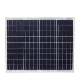 18V 50Wの多結晶性ケイ素の太陽電池パネル