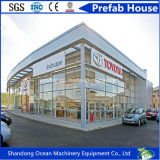 低価格のカスタマイゼーションのためのプレハブの鉄骨構造の建物の鋼鉄研修会