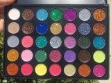 Nueva gama de colores más más duradera llegada del sombreador de ojos de 35 colores del brillo de Morphe