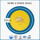 Boule en acier plaqué en zinc / argent / étain / or / nickel / cuivre / laiton
