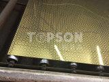 Spiegel des Topson Edelstahl-Blatt-8k, der dekorative Farbe für Hauptdekor ätzt