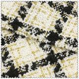 Gemischtes Farben-Polyester-Woolen Check-Gewebe 100%