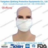 Attrezzature mediche una maschera di protezione a gettare colorata grado del Orecchio-Ciclo 4ply Qk-FM0003