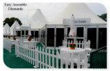 ホテルの屋外のイベントのテントは玄関ひさしのおおいのテント2を使用した
