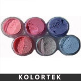 La mica mineral del color para compone los pigmentos
