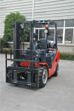 Tonelada LPG do Un 2.0-3.5 da nova série e Forklift do combustível do dobro do Forklift da gasolina com o motor do GM 3.0
