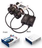 48W 5300 farol brilhante do diodo emissor de luz do automóvel da recolocação H4 das peças de automóvel do lúmen para o carro
