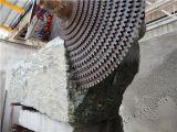 석판을 만들기를 위한 다중 잎 돌 구획 절단기