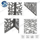 Cores diferentes e divisor de quarto de dobramento da tela do aço inoxidável dos projetos