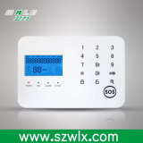 LCD表示のIos&Android APPの無線接触キーボードGSM&PSTN住宅用警報装置